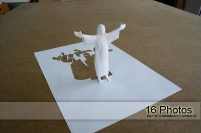 16 Amazing Creative Paper Art