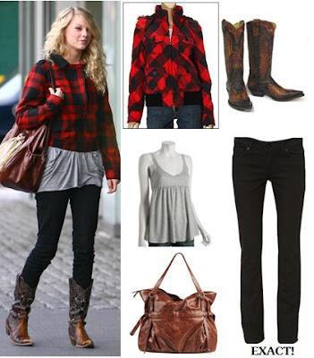 Taylor Swift Fashion April 2009
