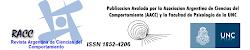 REVISTA ARGENTINA DE LA CIENCIA DEL COMPORTAMIENTO (RACC) AUDIO MP3