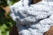 Calming Waves Cowl Pattern