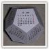 Calendario di cartone a 12 facce