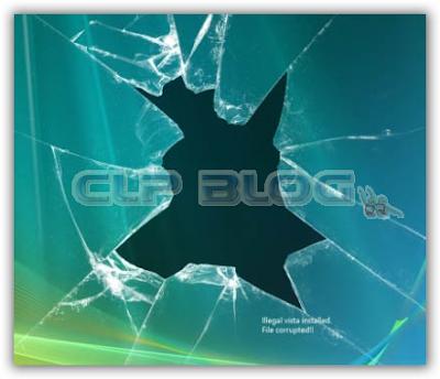 Sfondo Effetto Schermo Rotto Vista Clp Blog