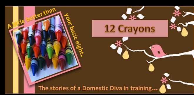 12 Crayons