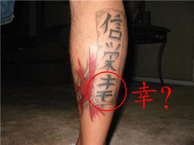 Chinese Kanji Tattoo Center