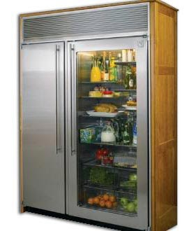 Xters Refrigerators 60 Inch Side By Side Refrigerator Freezer With Stainless Steel Interior
