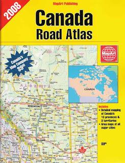 MapArt Canada Road Atlas