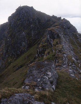 The North East ridge of Beinn Mhor