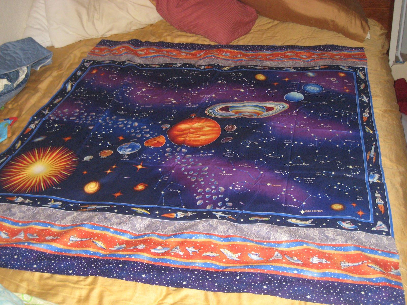macmacmoo designs solar system quilt. Black Bedroom Furniture Sets. Home Design Ideas