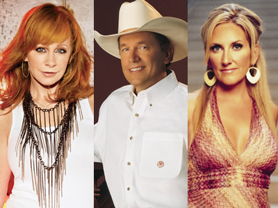 George Strait / Reba / Lee Ann Womack