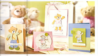 Stampin Up Build-A-Bear cards