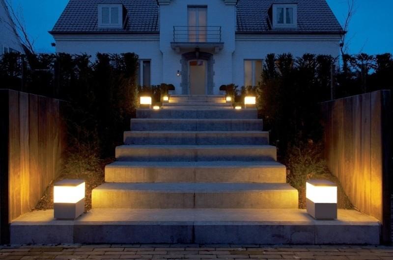 La luminaria para exterior decorando mejor - Lamparas para exteriores ...