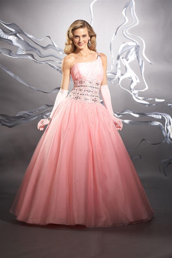 Vestidos galeria: Vestido para fiesta de 15 años de color rosado