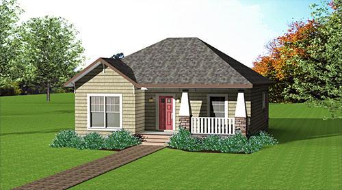 Interior design plano de casa de un piso y dos habitaciones - Plano de casa ...