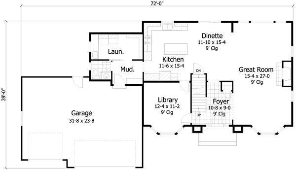Interior design 2010 08 08 - Planos de casas de 2 plantas ...