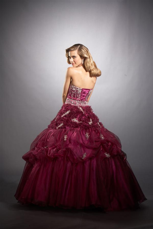Vestidos de fiesta color fucsia 2014