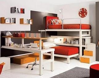Tumidei muebles de dormitorio habitaciones infantiles for Recamaras pequenas para ninos