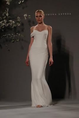 Vestido de novia elegante blanco