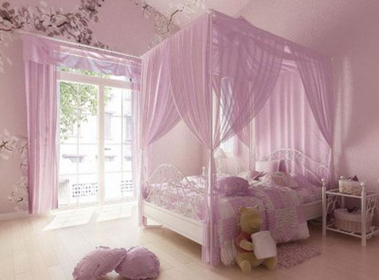 Decoracion de dormitorios: Decoracion de un dormitorio de niña