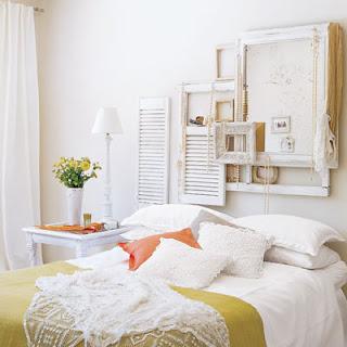 decorar una habitación blanca
