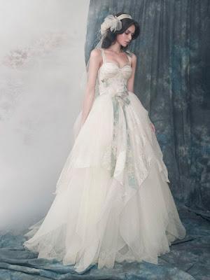 Vestidos románticos de boda