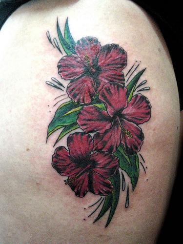 radicalmente el significado del tatuaje, siendo las rosas tatuajes de amor, las orquídeas tatuajes de originalidad, la flor de lis un claro símbolo de