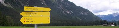 Via Alpina Trail Signs