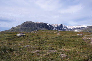 Bluff Near Tjaktja Pass Kungsleden - Kings Trail - King of Trails