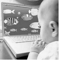 Baby Achter Computer Is Nieuwste Trend