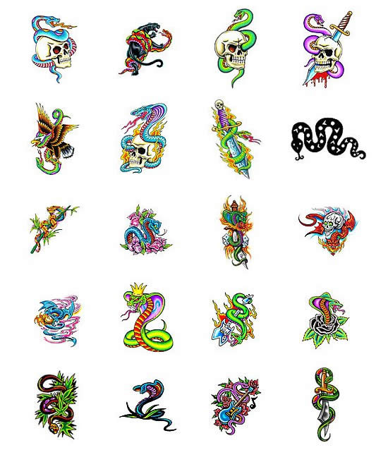Cool snake tattoos search