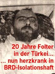 Für die sofortige Freilassung von Mustafa Atalay