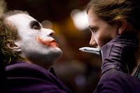 El Joker y Rachel Dawes