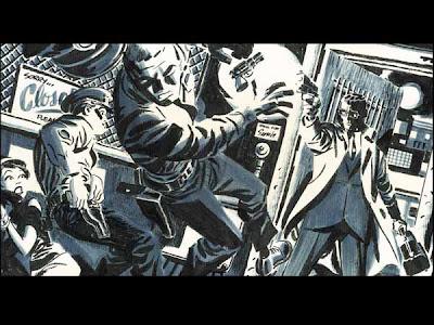 Arte de Darwyn Cooke para Parker