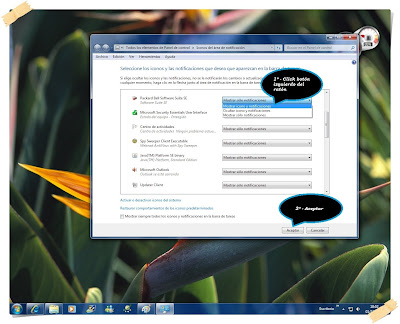 Configurar barra de tareas de windows 7