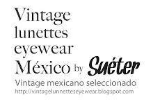 vintage lunnettes eyewear.
