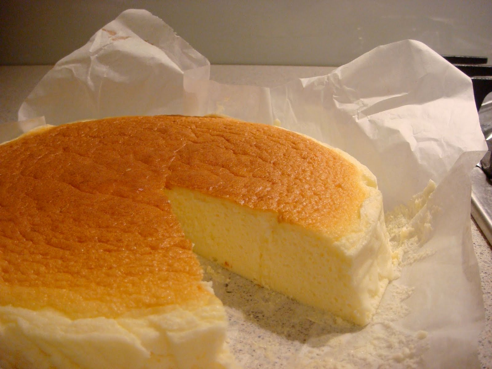 Japanese Cream Cheese Sponge Cake