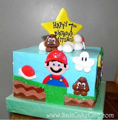 Mario bros yoshi birthday cake bookmarktalkfo Image collections