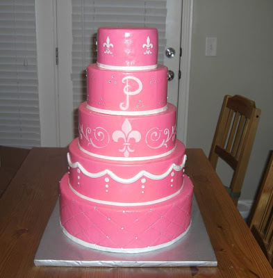 Betsy was so amazing to work with in making her wedding cake