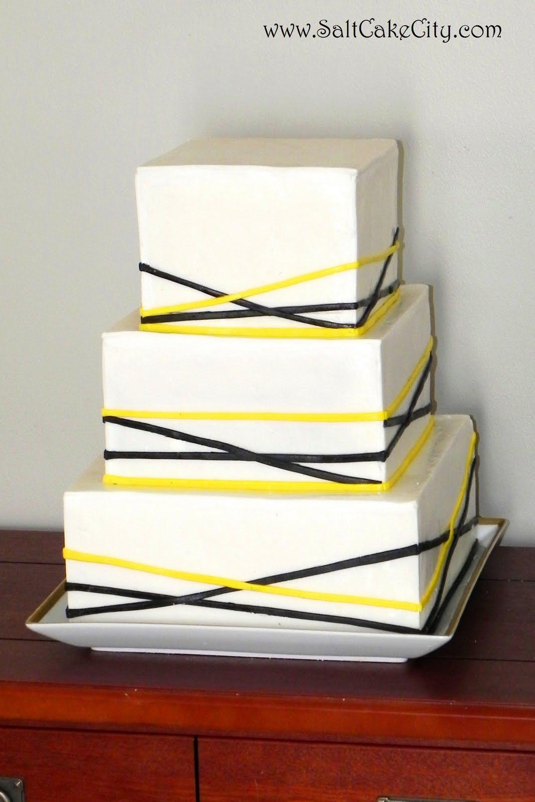 Salt Cake City Last Minute Steeler s Wedding Cake