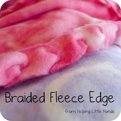 No-Sew Fleece Blanket Single Layer