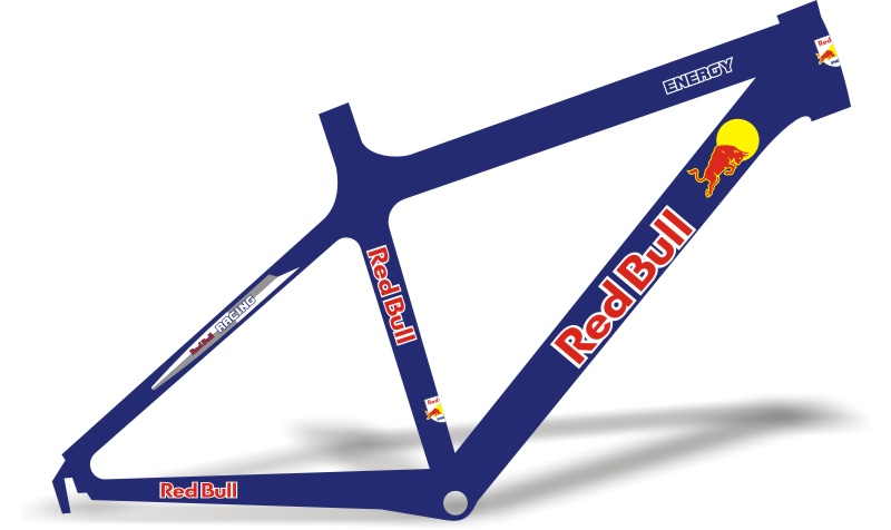 Stickers Design Adesivo Bike Red Bull