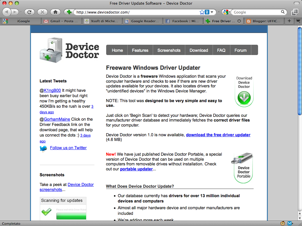 download driver doctor portable