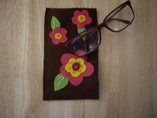 Eye-glass bag (sold)