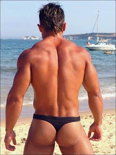 Sol Playa Hombres En Tanga Mmm