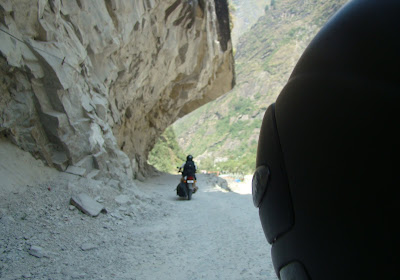 last 20Km road stretch to Badrinath