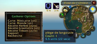 Die besten World of Warcraft Addons, Addon, Gatherer