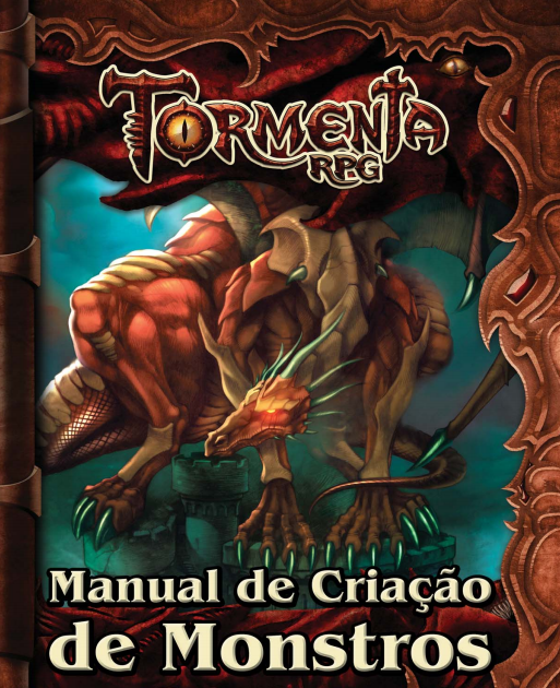 Tormenta Rpg Manual De Cria O De Monstros Taverna Do