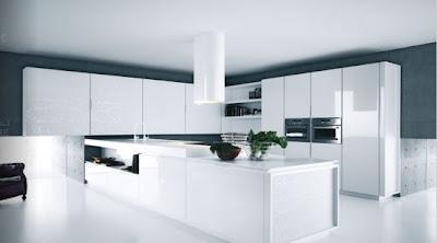 Simple White Kitchen Design