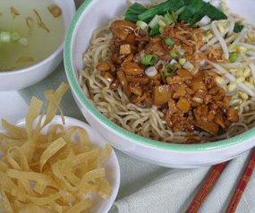 (Bangka Chicken Noodle) Mie Ayam Bangka