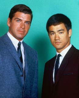 Van Williams and Bruce Lee in The Green Hornet TV Series