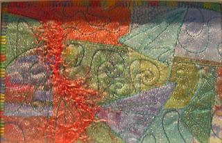 fiberart postcard by Ann Marie Cowley